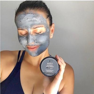 MẶT NẠ SUKIN-OIL BALANCING PLUS CHARCOAL ANTI-POLLUTION FACIAL MASQUE