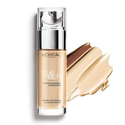 L'OREAL TRUE MATCH LIQUID FOUNDATION REVIEW