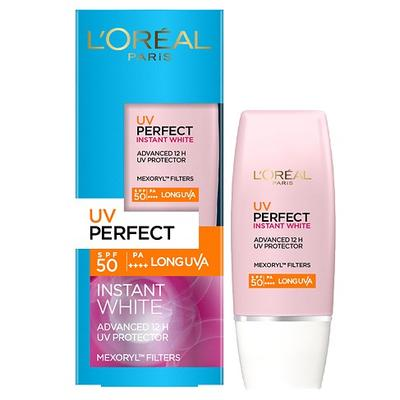 REVIEW KEM CHỐNG NẮNG L'OREAL UV PERFECT INSTANT WHITE