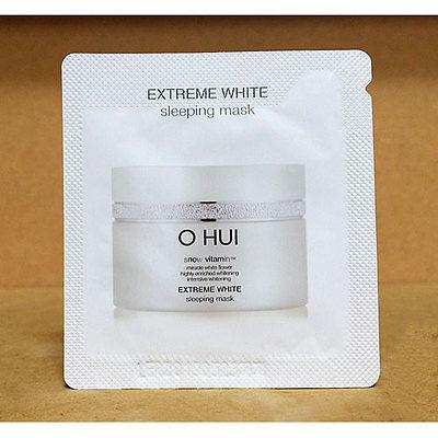 REVIEW MẶT NẠ NGỦ OHUI EXTREME WHITE SLEEPING MASK