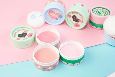 Review phấn má hồng The Face Shop Lovely Meex Cushion Blusher