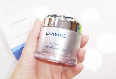 Review mặt nạ ngủ Laneige Time Freeze Firming Sleeping Mask