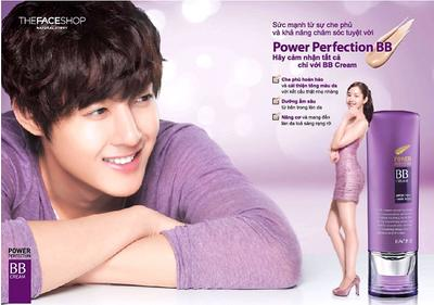Yêu kiều cùng kem nền The Face Shop Power Perfection BB Cream