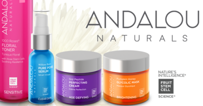 ANDALOU NATURALS -  BEAUTY IS YOU!