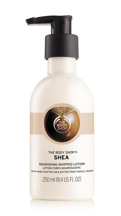 THE BODY SHOP SHEA WHIP BODY LOTION REVIEW