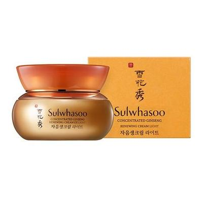 REVIEW SULWHASOO CONCENTRATED GINSENG RENEWING CREAM EX