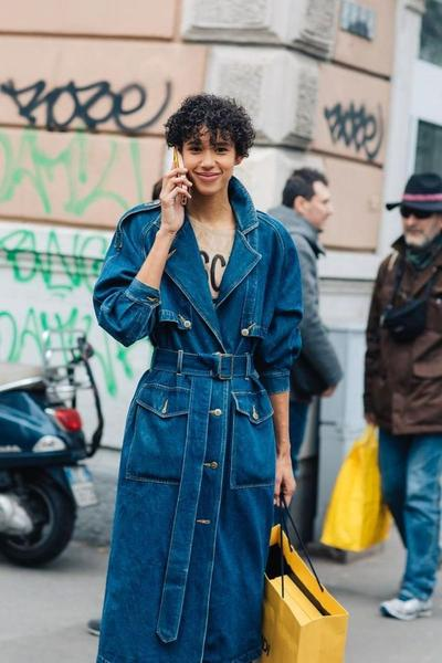 TRENCH COAT DENIM