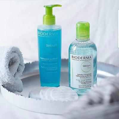 REVIEW BIODERMA SEBIUM GEL MOUSSANT