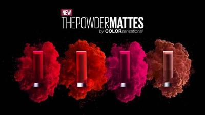 Swatch son Maybelline Color Sensational Powder Matte