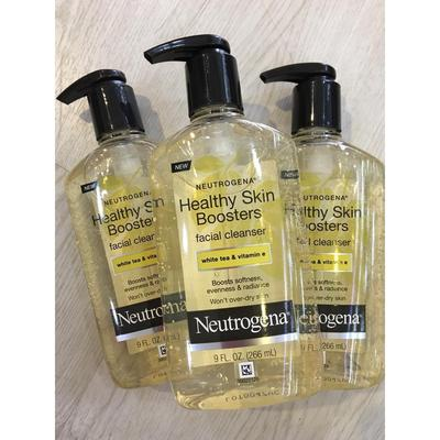 REVIEW SỮA RỬA MẶT NEUTROGENA HEALTHY SKIN BOOSTERS FACIAL CLEANSER