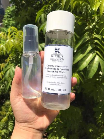 CLEARLY CORRECTIVE BRIGHTENING & SOOTHING TREATMENT WATER REVIEW