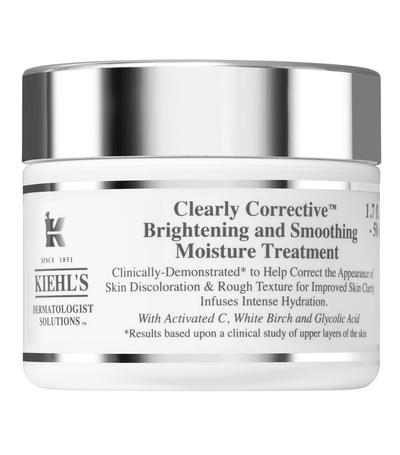 Review nhanh kem dưỡng ẩm Kiehl's Clearly Corrective Brightening & Smoothing Moisture Treatment