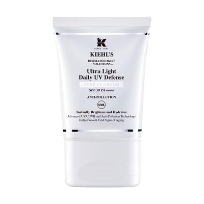 Review kem chống nắng làm sáng Kiehl's Ultra Light Daily UV Defense Tone Up Cream SPF 50 PA ++++