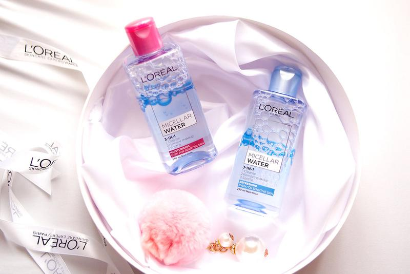 Image result for L'ORÉAL PARIS – 3 IN 1 MICELLAR WATER