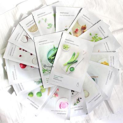 Update ngay phiên bản mới mặt nạ giấy Innisfree My Real Squeeze Mask