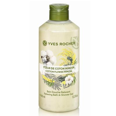 SƠ LƯỢC VỀ GEL TẮM YVES ROCHER COTTON FLOWER MIMOSA RELAXING BATH AND SHOWER GEL