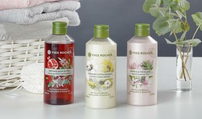 REVIEW COTTON FLOWER MIMOSA RELAXING BATH AND SHOWER GEL