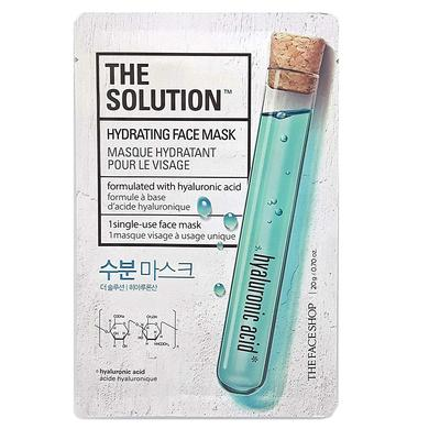 Review mặt nạ cung cấp ẩm The Solution Hydrating Face Mask The Face Shop
