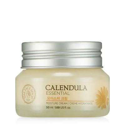 Review kem dưỡng làm dịu da The Face Shop Calendula Essential Moisture Cream