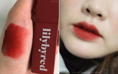 1. LILY BY RED MOOD LIAR VELVET TINT #06