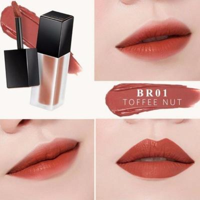 A'PIEU COLOR LIP STAIN MATTE FLUID - MÀU BR01 TOFFEE NUT