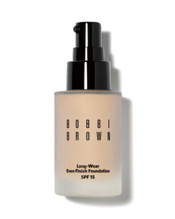 3. BOBBI BROWN LONG-WEAR EVEN FINISH FOUNDATION SPF 15