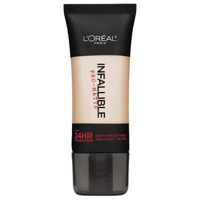 5. L'OREAL INFALLIBLE PRO-MATTE FOUNDATION