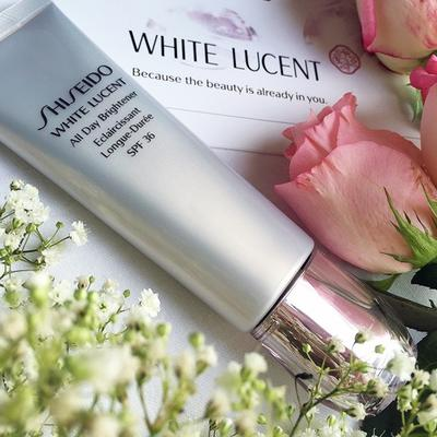 3. SHISEIDO WHITE LUCENT ALL DAY BRIGHTENER SPF 36/PA+++