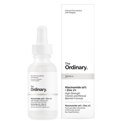 Review serum trị thâm mụn The Ordinary Niacinamide 10% + Zinc 1%