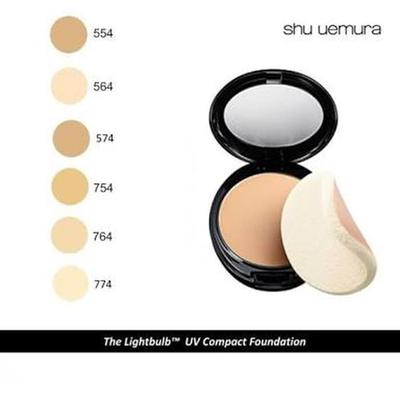 REVIEW SHU UEMURA THE LIGHTBULB UV COMPACT FOUNDATION