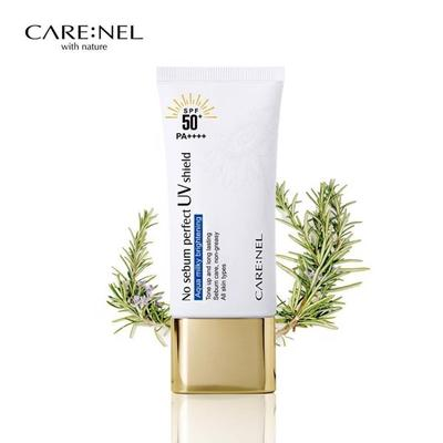 REVIEW KEM CHỐNG NẮNG CARE:NEL NO SEBUM PERFECT UV SHIELD SPF50+/PA++++