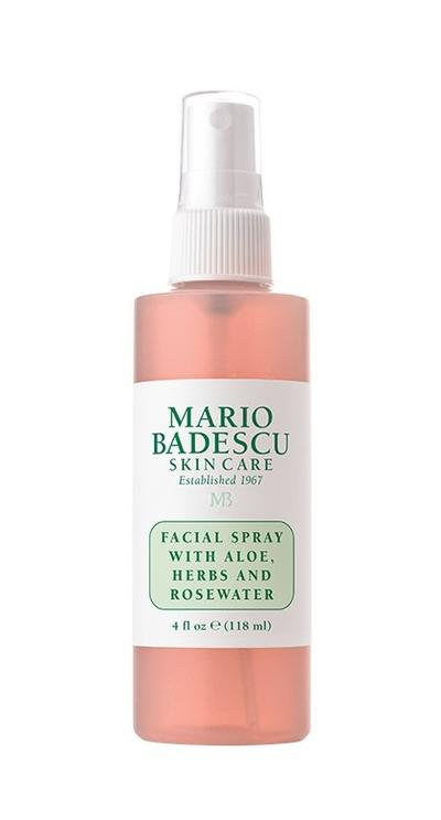 Review Toner Đa zi năng Mario Badescu Facial Spray With Aloe, Herbs & Rosewater