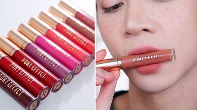 Môi cực xinh với son Pony Effect Stay Fit Matte Lip Color