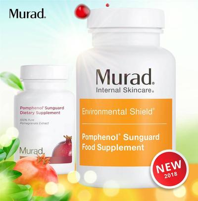 Review viên uống chống nắng Murad Pomphenol Sunguard Dietary Supplement