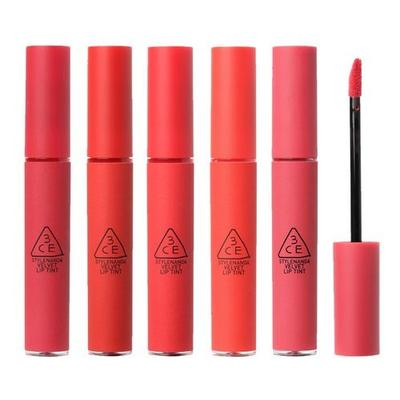 REVIEW SON 3CE VELVET LIP TINT