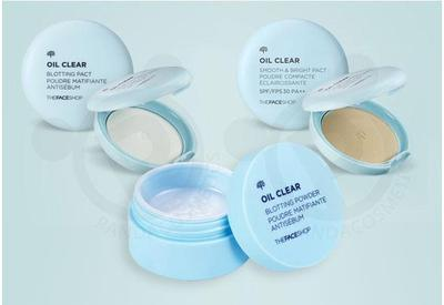 4. THE FACE SHOP OIL CLEAR SMOOTH & BRIGHT PACT