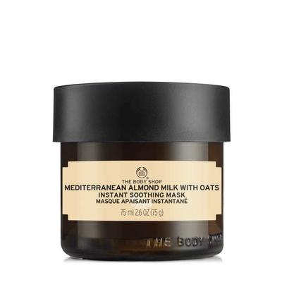 Hot!!! Review mặt nạ làm dịu da The Body Shop Mediterranean Almond Milk with Oats Instant Soothing Mask