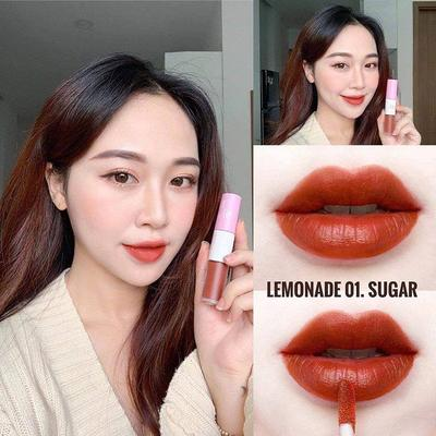 4.	LEMONADE PERFECT COUPLE LIP MÀU 01 SUGAR