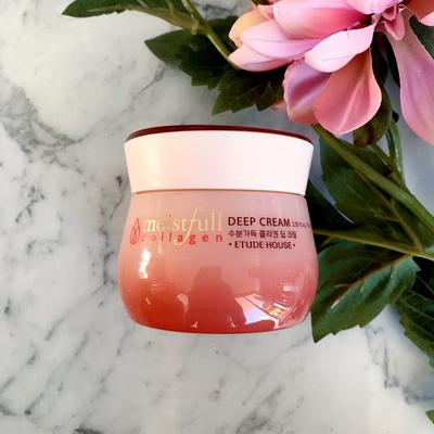 Review kem dưỡng ẩm Etude House Moistfull Collagen Deep Cream