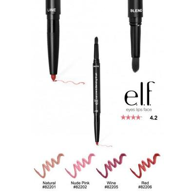 CỌ SON E.L.F LIP LINER & BLENDING BRUSH