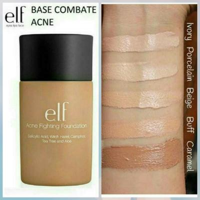 2. E.L.F ACNE FIGHTING FOUNDATION