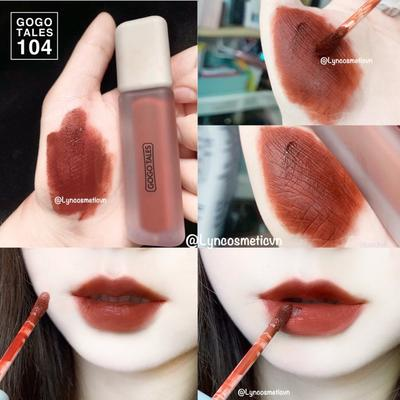 REVIEW SON KEM LÌ GOGO TALES CRAFTED ELEGANCE MATTE LIP