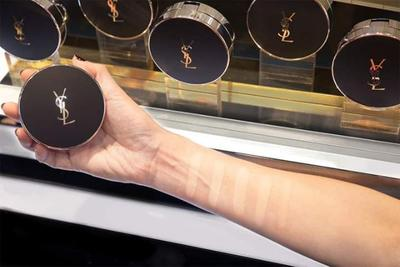 4. YSL BEAUTE ALL HOURS CUSHION FOUNDATION SPF 50 PA +++