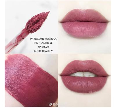 BẢNG MÀU SON PHYSICIANS FORMULA THE HEALTHY LIP VELVET LIQUID LIPSTICK