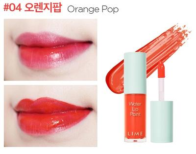 BẢNG MÀU SON LIME WATER LIP PAINT