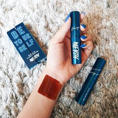 SON MERZY V6 CLASSIC BLUE BE YOURSELF THE FIRST VELVET TINT REVIEW CHI TIẾT