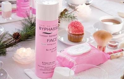 Dưỡng da dịu nhẹ với nước hoa hồng Byphasse Gentle Toning Lotion With Rosewater All Skin Types