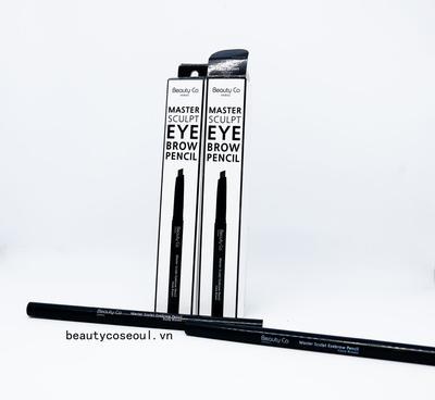 Review chì kẻ lông mày 2 đầu Beauty Co Seoul Master Sculpt Eyebrow Pencil